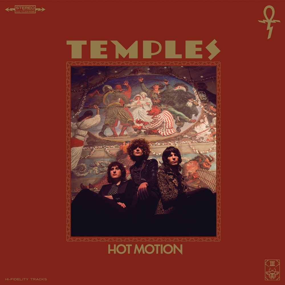 Temples – Hot Motion (★★): Zielloze rehash