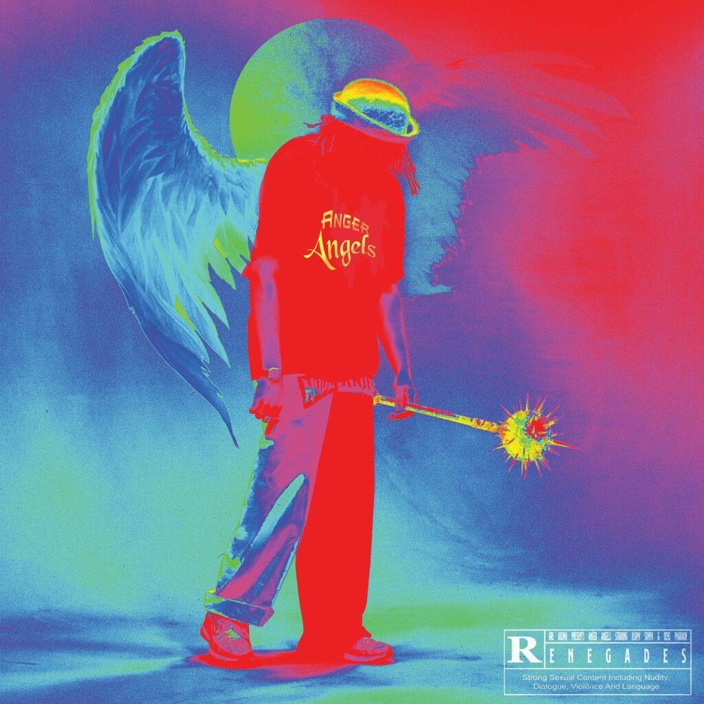 "Nieuwe single Rare Akuma – ""ANGER ANGELS"" feat. Benz Pharaoh & Asaph Sampa"