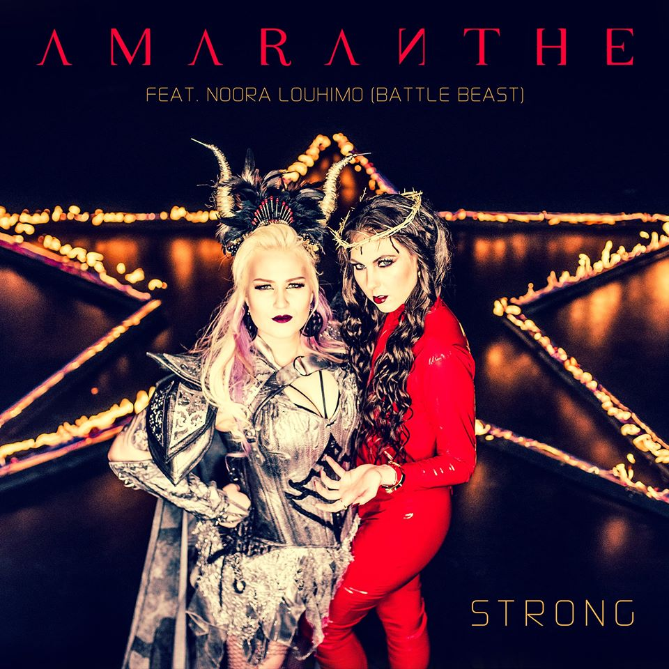 "Nieuwe single Amaranthe – ""Strong"" feat. Noora Louhimo"