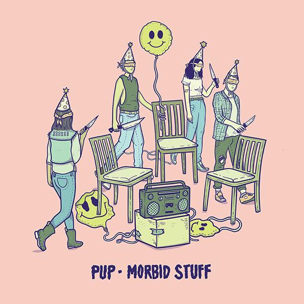 Pup – Morbid Stuff (★★★★): Depressief album waar je vrolijk van wordt