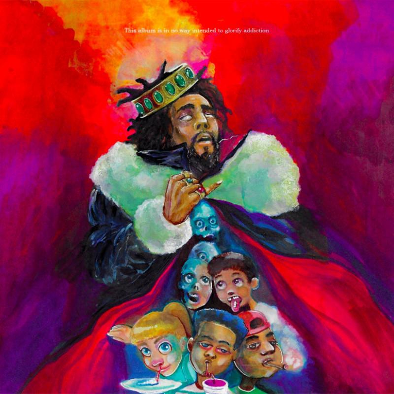 J. Cole – KOD (★★★½): een missie om hiphop eigenhandig te redden van de ondergang