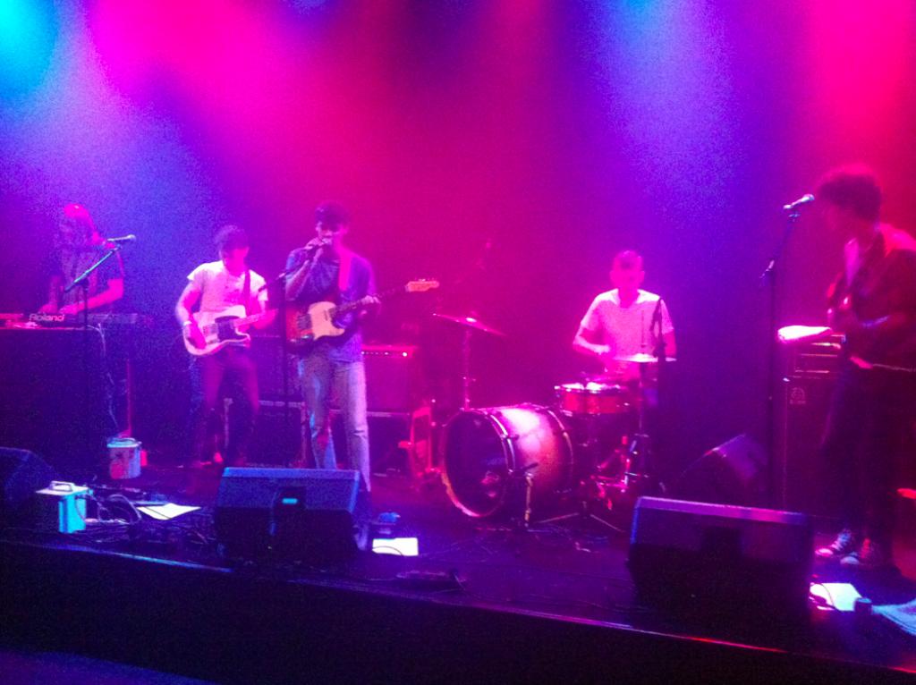 Day Wave: dromerige gitaarpop in een intiem concert