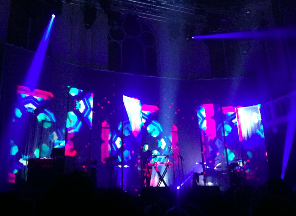 Leftfield in Paradiso, Amsterdam: een show met stampende live beats