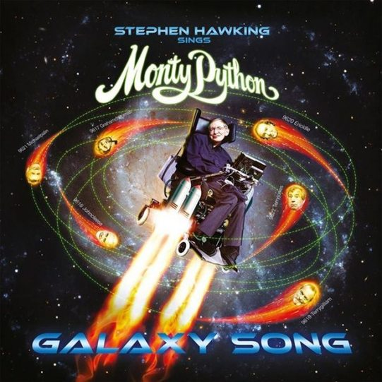 Stephen Hawking covert Monty Python voor Record Store Day