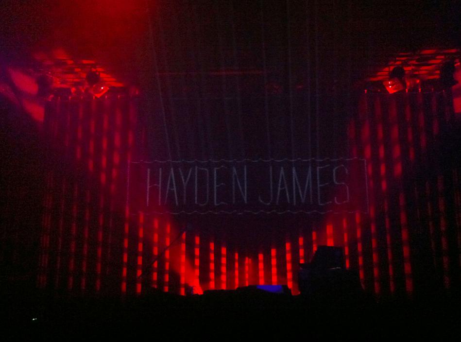 Hayden James in Melkweg: Heerlijk dansbare set van eigen werk.