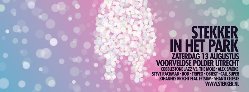 Festivaltip: Stekker in het Park in Utrecht