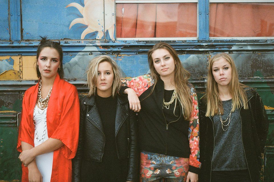 "Nieuwe single The Beaches – ""Give It Up"""