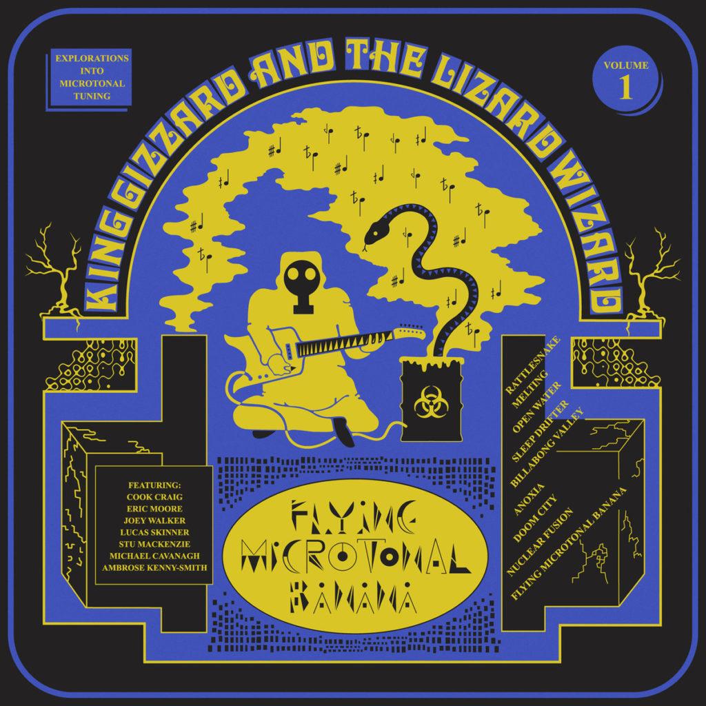 King Gizzard And The Lizard Wizard – Flying Microtonal Banana: stelen uit Aladdin-land (★ ★ ★½)
