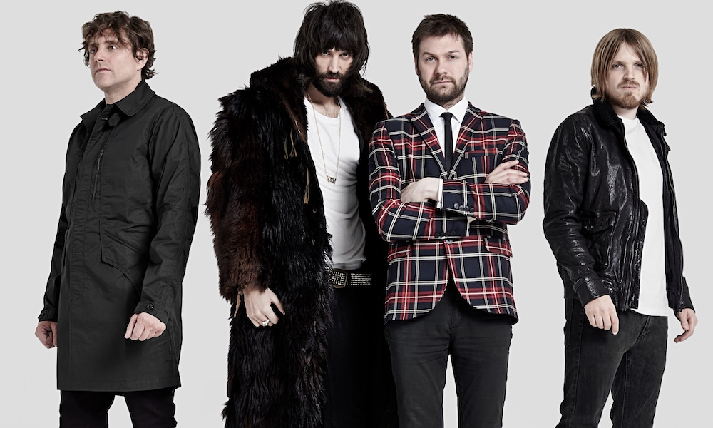 Kasabian @ Vorst Nationaal: Huilen van amusement