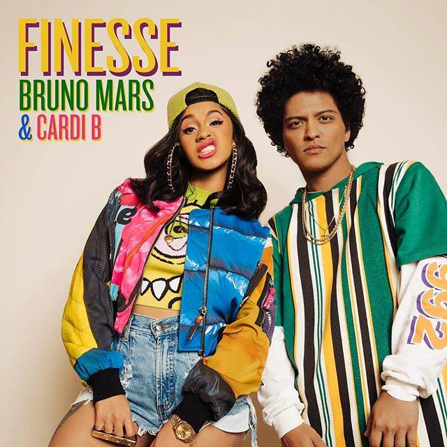 "Nieuwe single Bruno Mars & Cardi B – ""Finesse (remix)"""