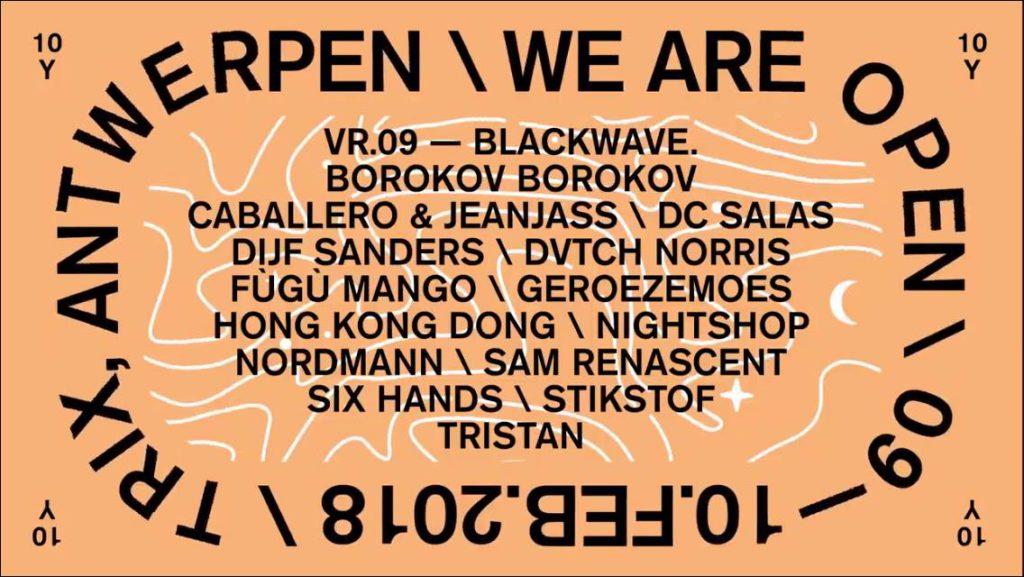 We Are Open (vrijdag) @ Trix: van Antwerpse hiphop naar Gentse jazz en terug