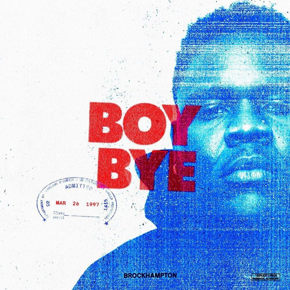 "Nieuwe single BROCKHAMPTON – ""BOY BYE"""