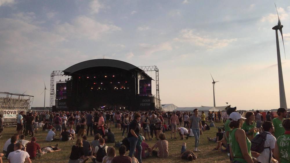 Dour Festival 2018: Festivaldag 4