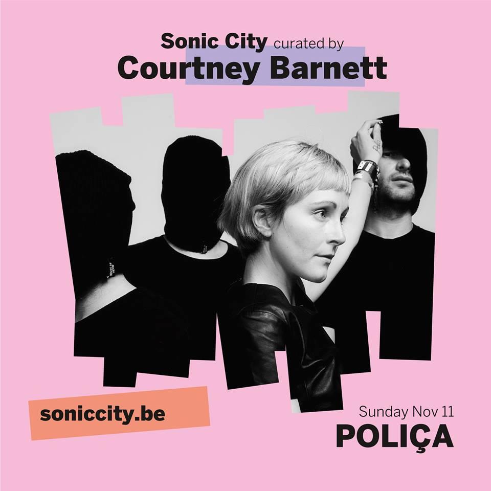 Negen nieuwe namen Sonic City Festival met o.a. Poliça en Let's Eat Grandma