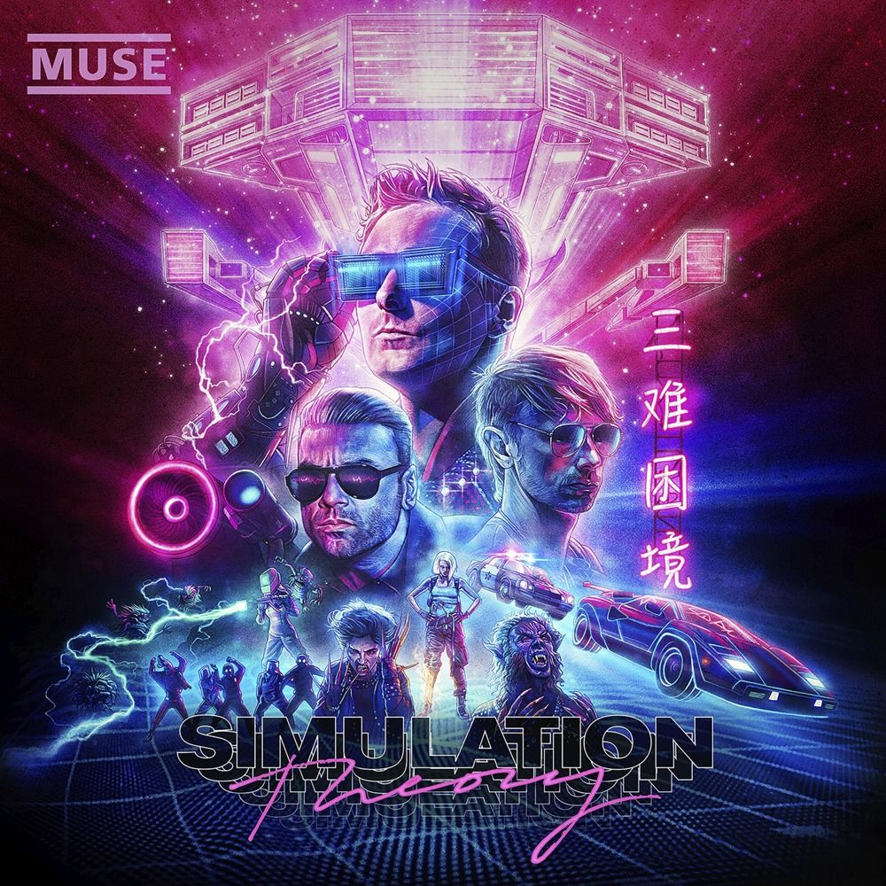 Muse – Simulation Theory (★½): Muzikale evolutie ten koste van de beleving