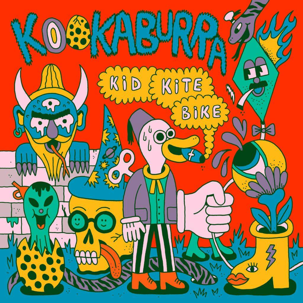 Kookaburra – KidKiteBike (★★★½): Kronkelen en zweten