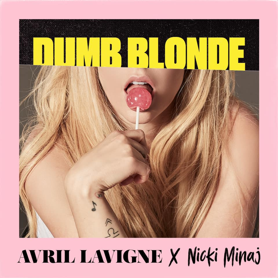 "Nieuwe single Avril Lavigne & Nicki Minaj – ""Dumb Blonde"""