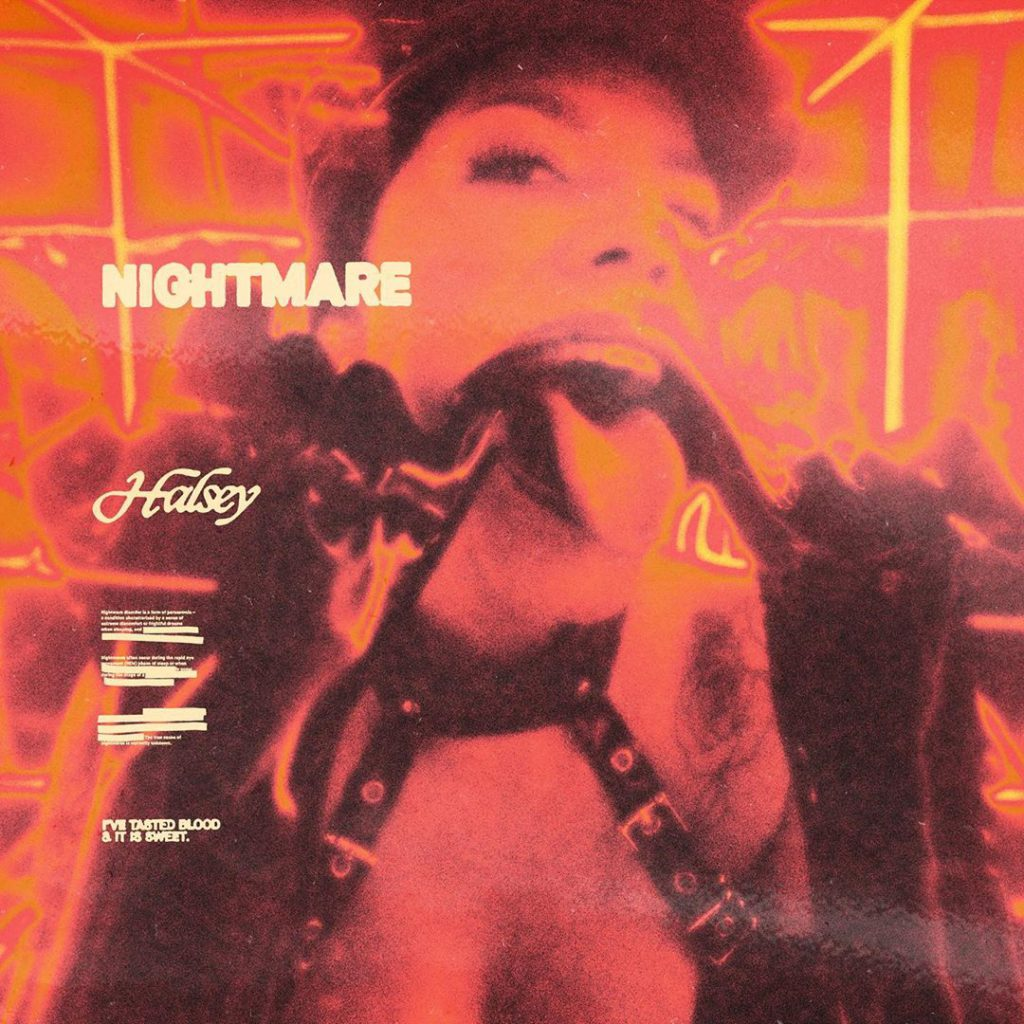 "Nieuwe single Halsey – ""Nightmare"""