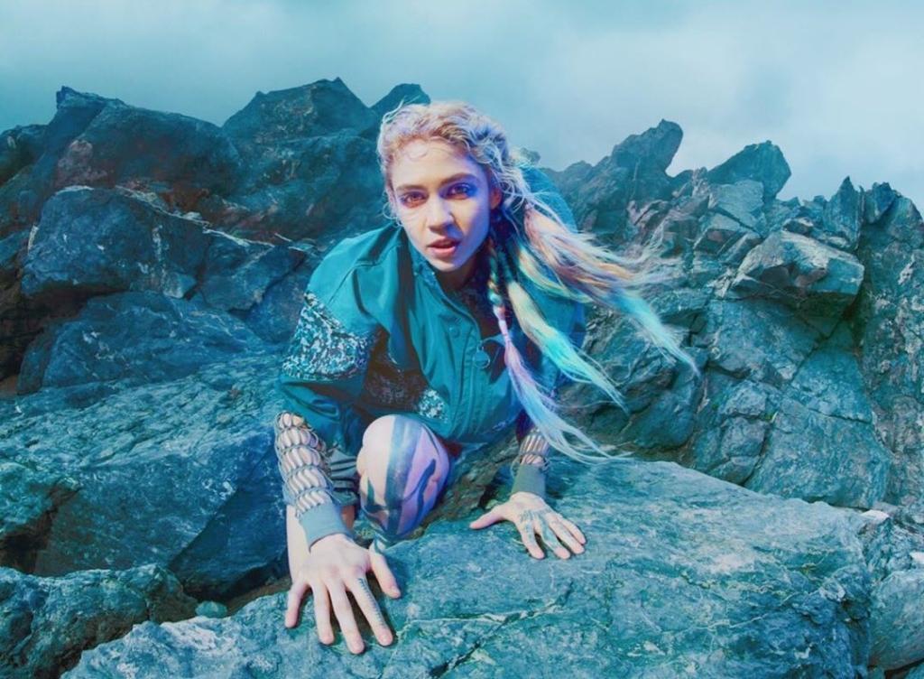 "Nieuwe single Grimes – ""Delete Forever"""