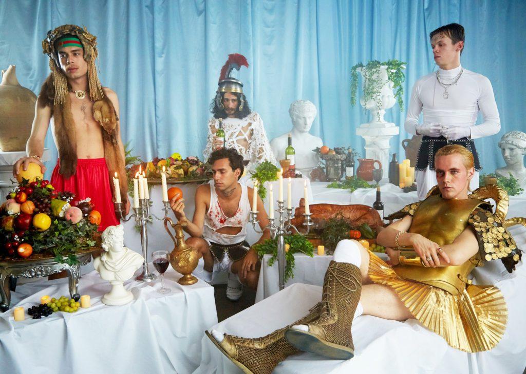 "Nieuwe single HMLTD – ""Blank Slate"""