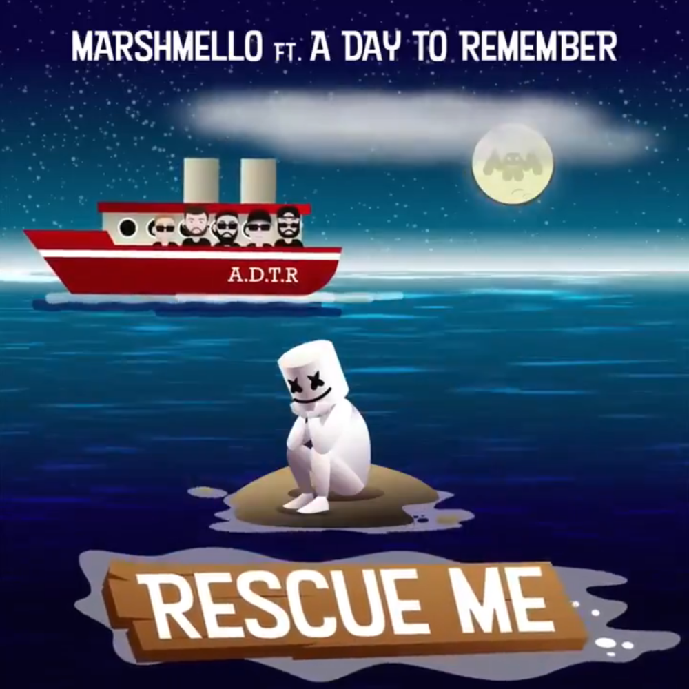 "Nieuwe single Marshmello ft. A Day To Remember – ""Rescue Me"""