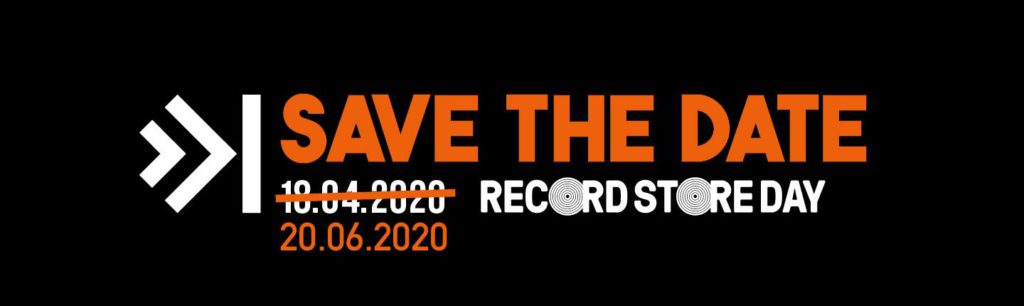 Record Store Day 2020 wordt uitgesteld