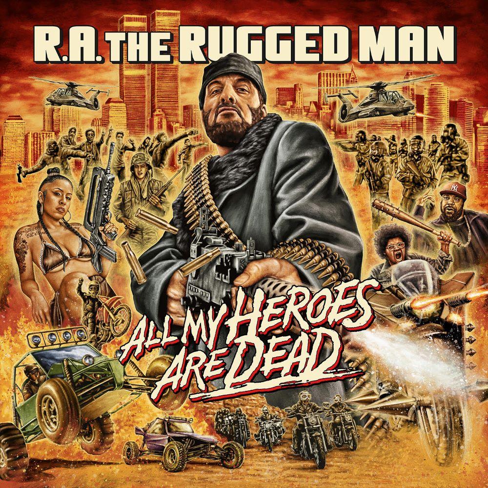 R.A. the Rugged Man – All My Heroes Are Dead (★★): Goed kunnen rappen maakt een rapper nog niet goed