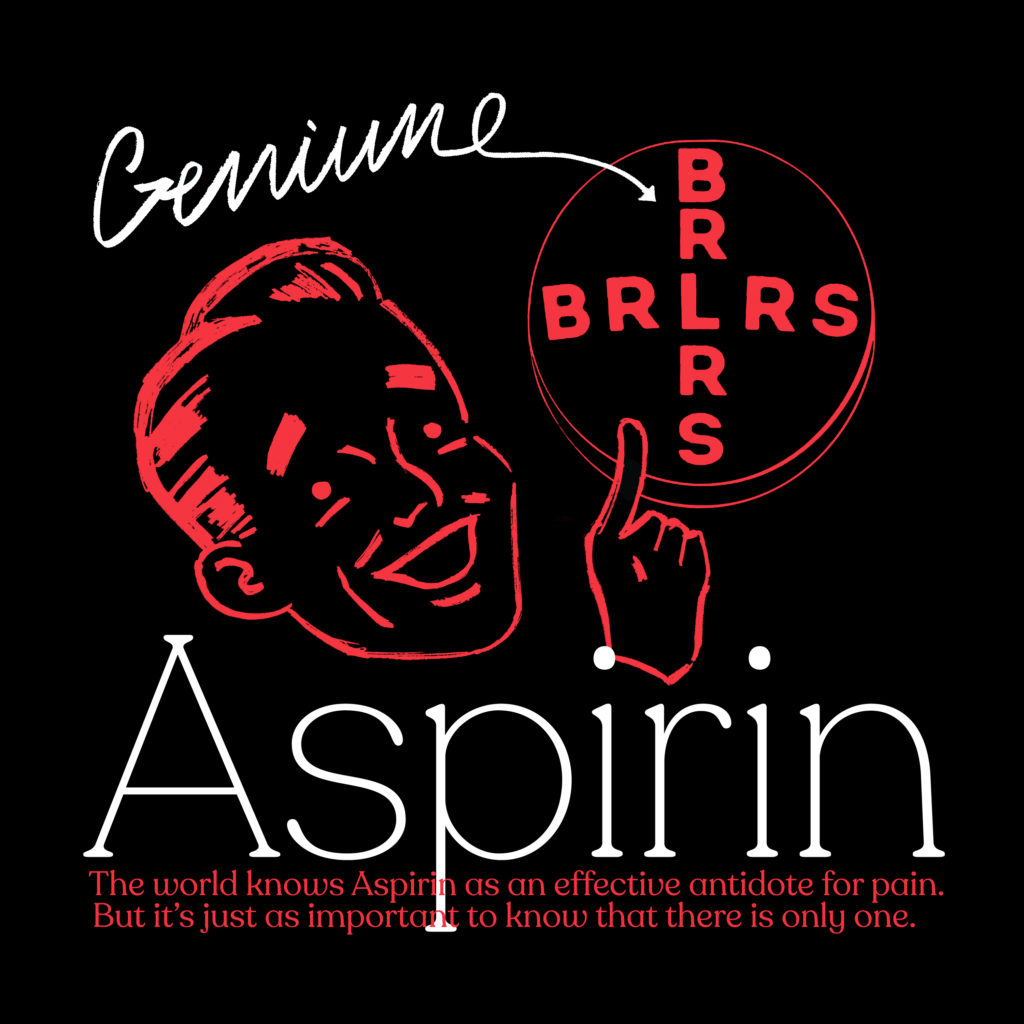 BRLRS – Aspirin ep (★★★½): Lo-fi zandpunk uit Oostende