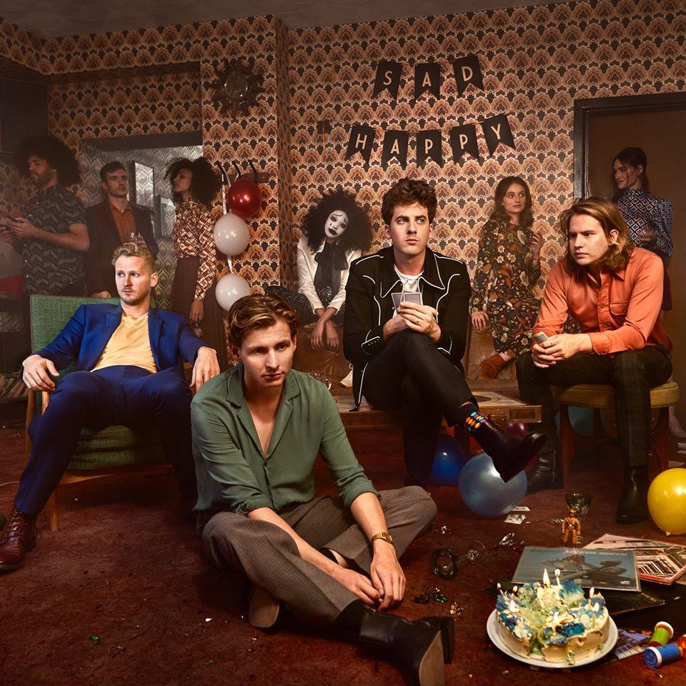 Interview Circa Waves: 'Zonder de piano in de hal was er waarschijnlijk geen album'