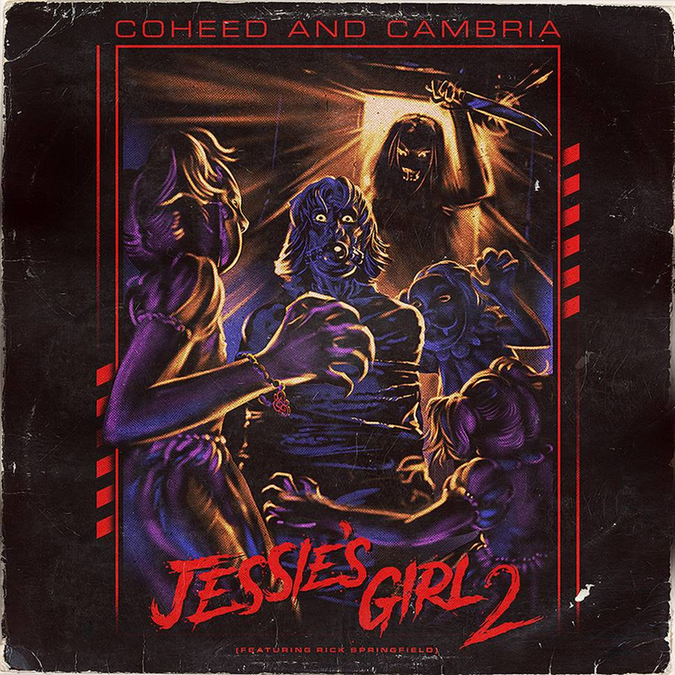 """Nieuwe single Coheed and Cambria – """"Jessie's Girl 2"""" (feat. Rick Springfield)"""
