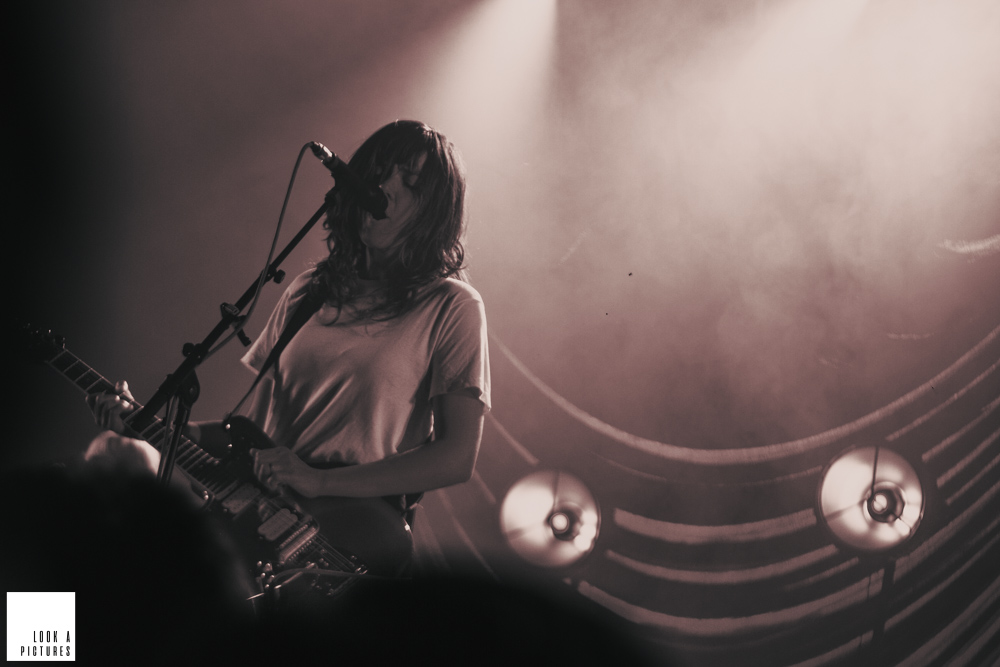 Courtney Barnett @ AB (Ancienne Belgique): Courtney voelt zich goed