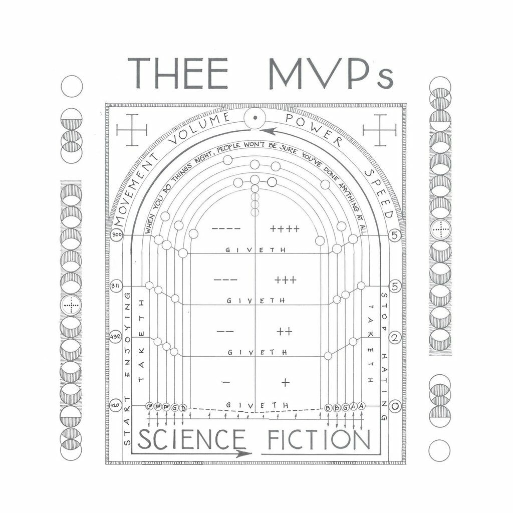 Thee MVPs – Science Fiction (★★★½): Op expeditie in riffland