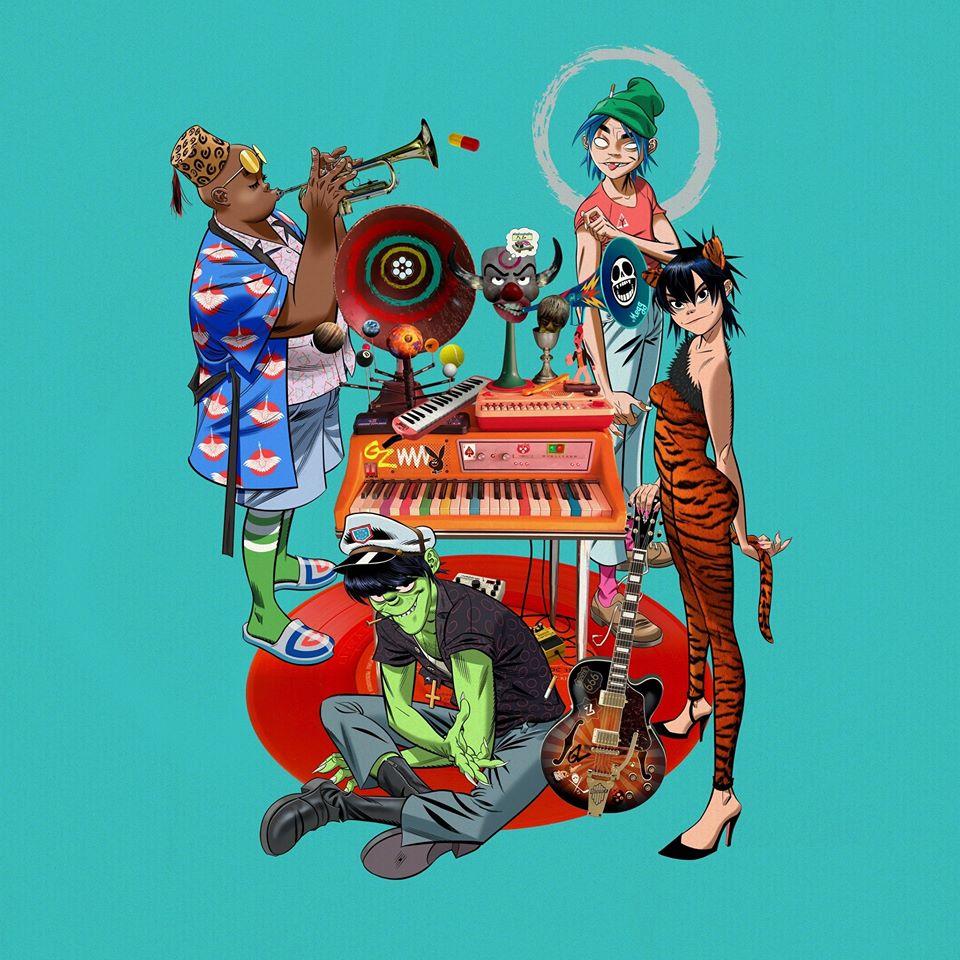 """Nieuwe single Gorillaz ft. Fatoumata Diawara – """"Désolé"""""""