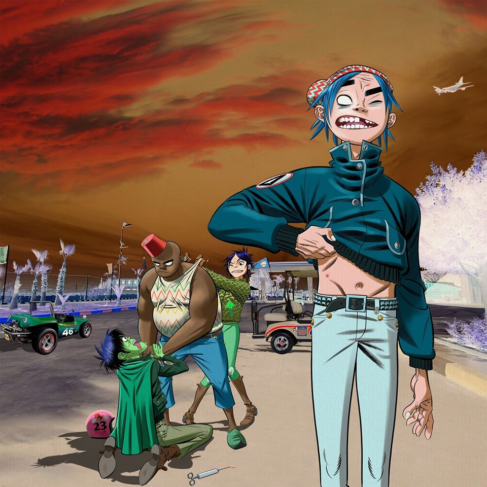 "Nieuwe single Gorillaz feat. Octavian – ""Friday 13th"""