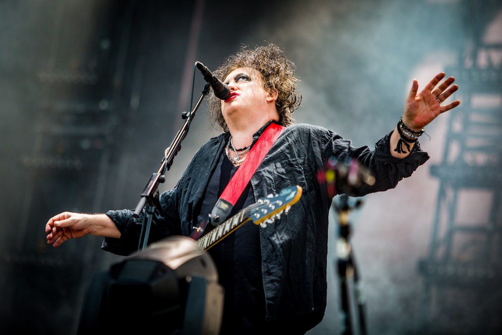 The Cure @ Rock Werchter 2019: De speelplaats van Robert Smith