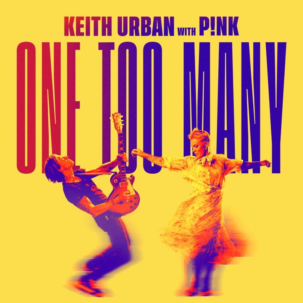 "Nieuwe single Keith Urban – ""One Too Many"" (feat. P!nk)"