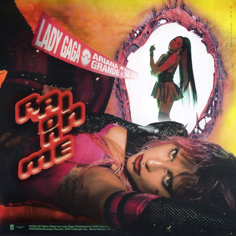 "Nieuwe single Lady Gaga & Ariana Grande – ""Rain On Me"""