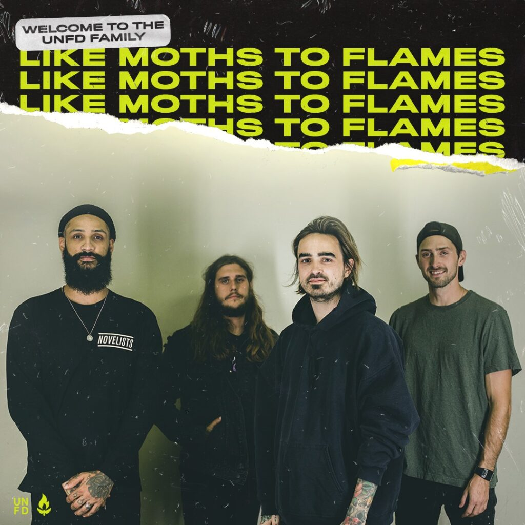 "Nieuwe single Like Moths to Flames – ""Habitual Decline"""