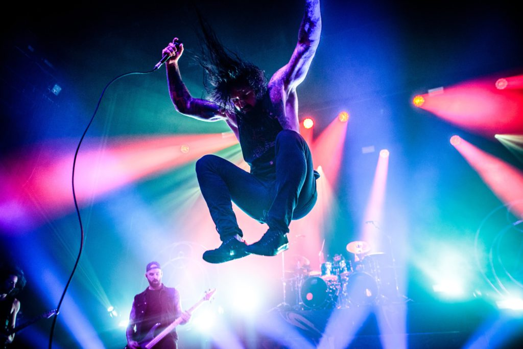 As I Lay Dying @ Ancienne Belgique (AB): De harde kern van de metalcorescene