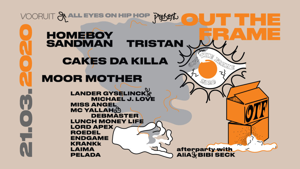 Cakes Da Killa, Moor Mother & Lander Gyselinck vervolledigen line-up Gents hiphopfestival OUT THE FRAME