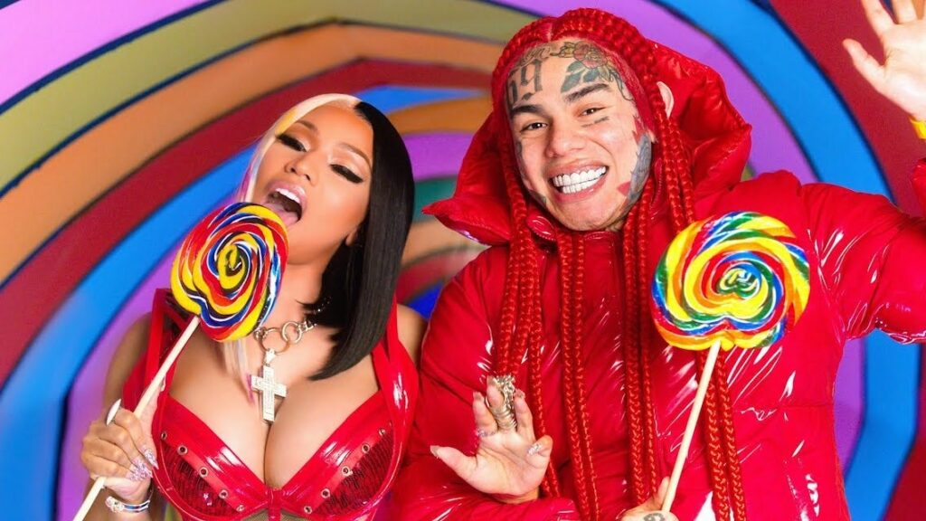 "Nieuwe single 6ix9ine & Nicki Minaj – ""TROLLZ"""