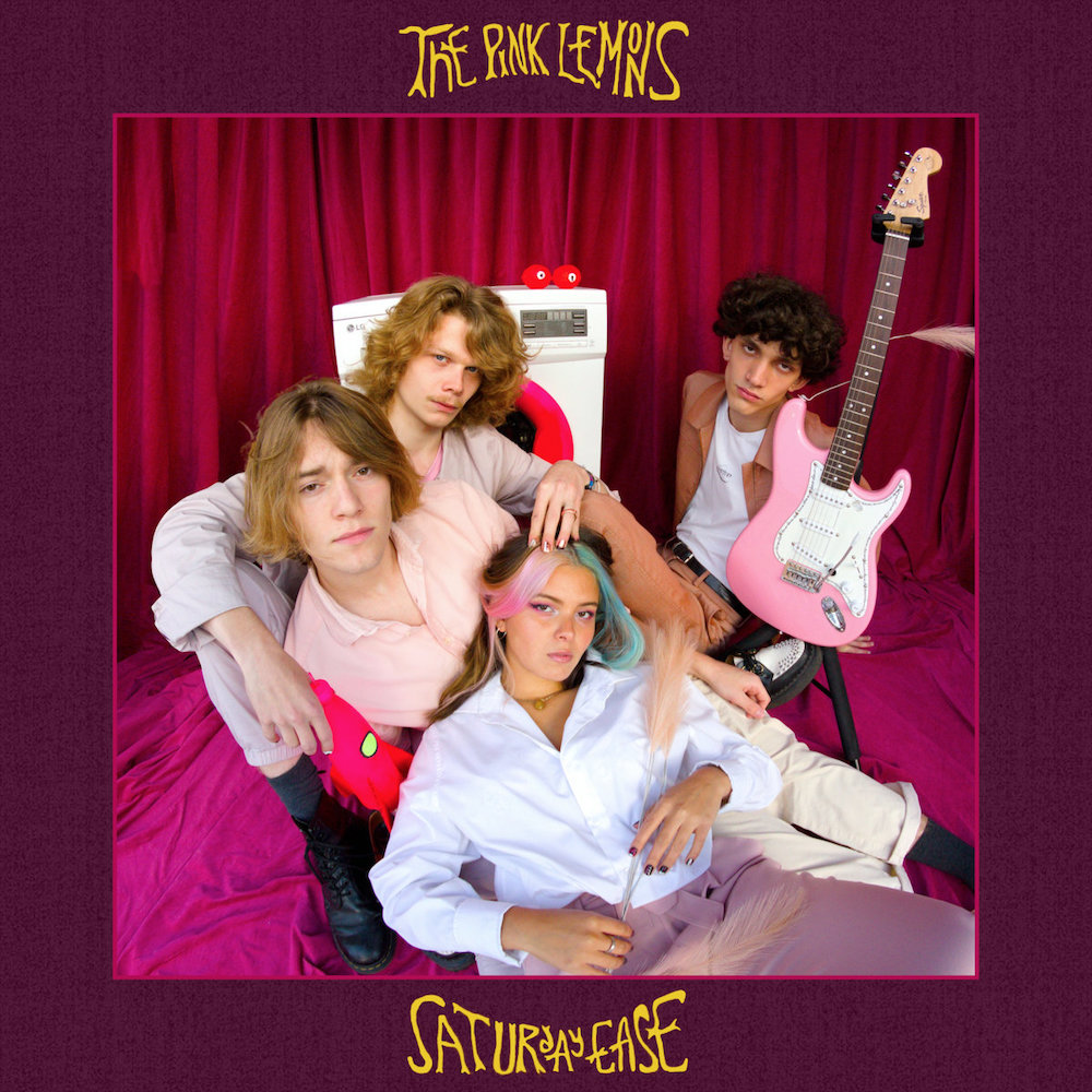 The Pink Lemons – Saturday Ease (★★★½): Frisse limonade met een shot funk
