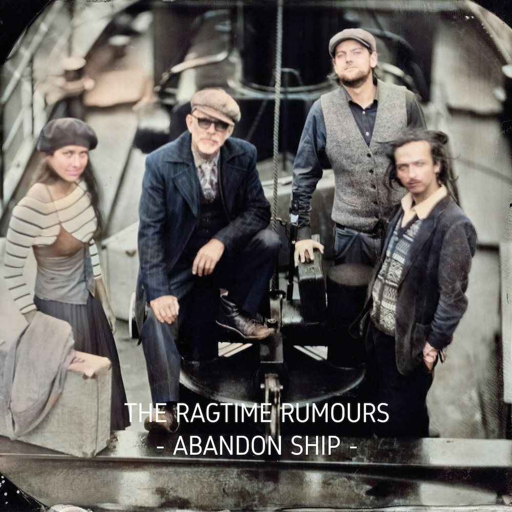 The Ragtime Rumours – Abandon Ship (★★★★): De Mississippi stroomt door de Limburgse Maasvlakte