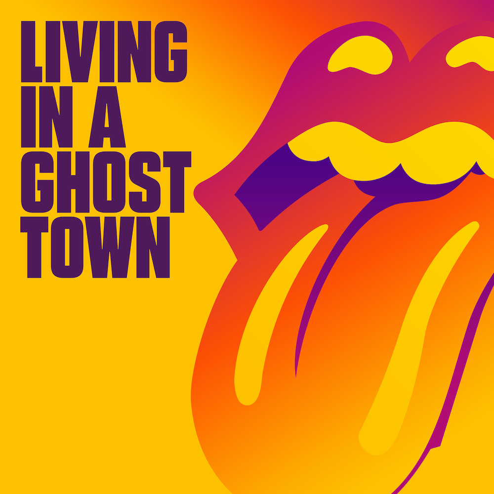 "Nieuwe single The Rolling Stones – ""Living in a Ghost Town"""