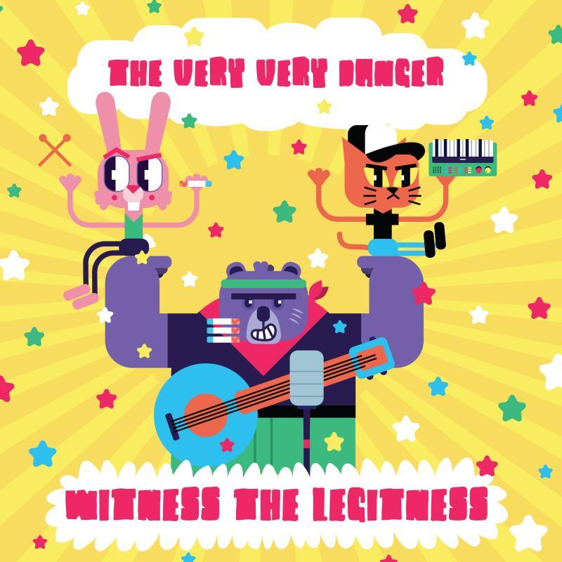 The Very Very Danger – Witness The Legitness (★★★★): Hoogstaande samenwerking tussen extremen