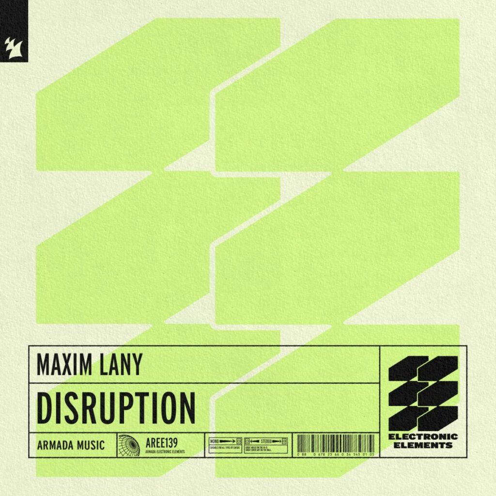 "Nieuwe single Maxim Lany – ""Disruption"""