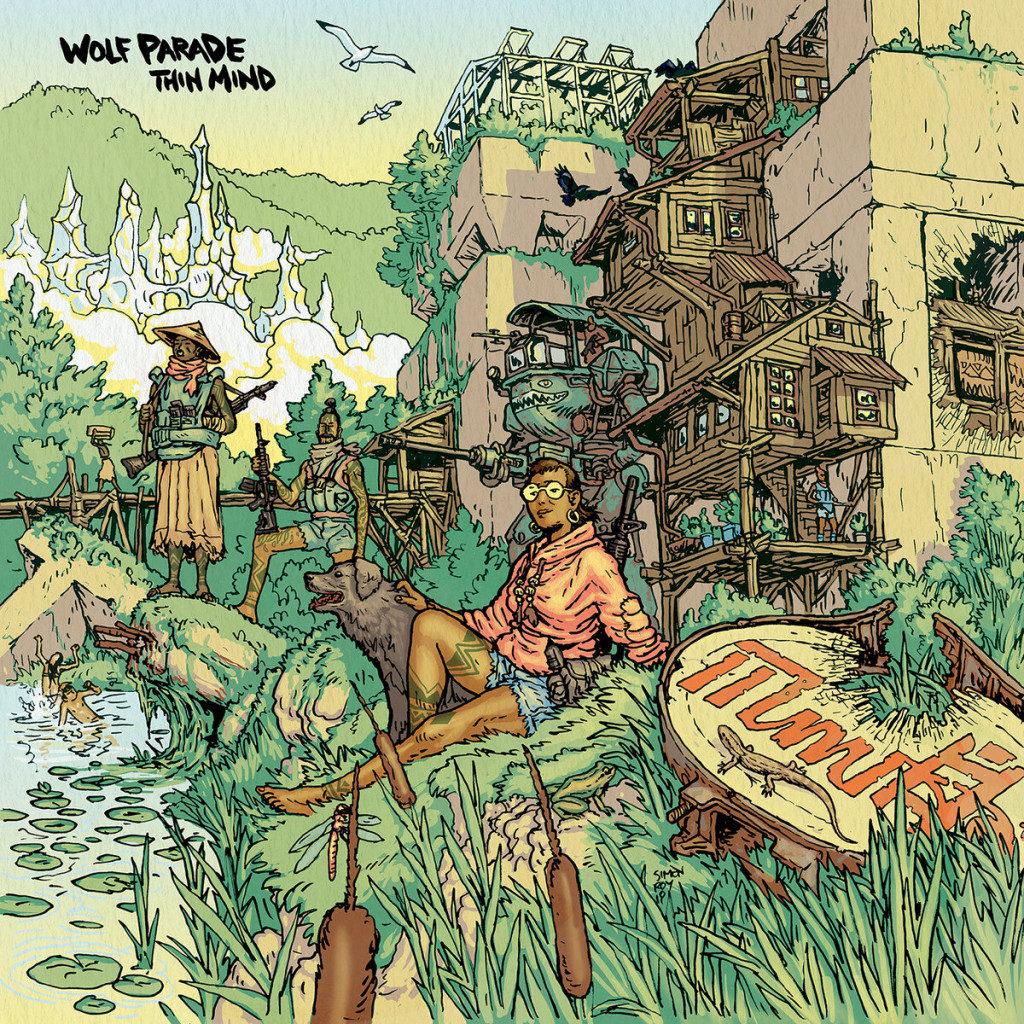 Wolf Parade – Thin Mind (★★★★): Mooi plaatje voor een ideale wereld