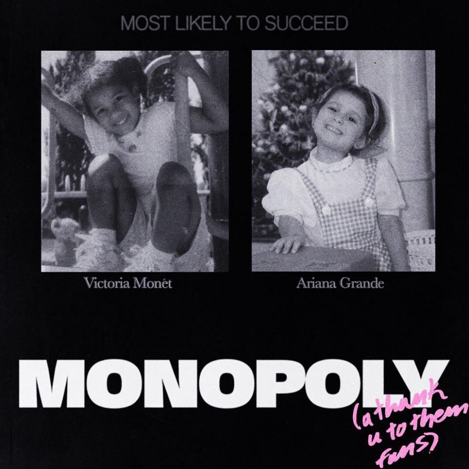 "Nieuwe single Ariana Grande ft. Victoria Monét – ""MONOPOLY"""