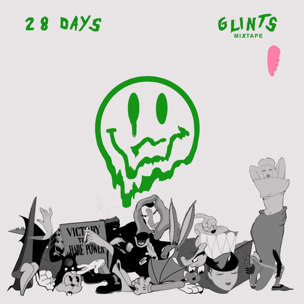 Glints – 28 Days (★★★): Matig coronaprojectje