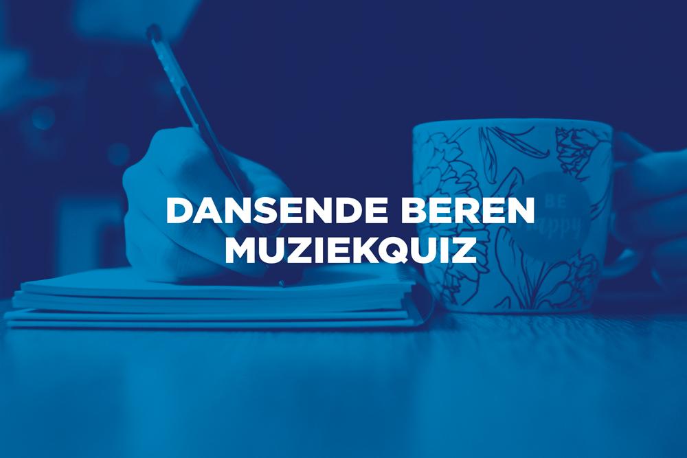 Speel thuis de Dansende Beren Cafémuziekquiz